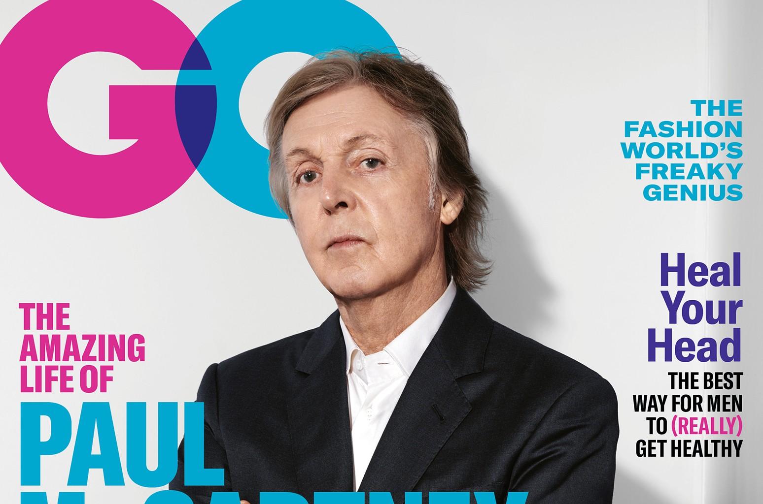 Paul McCartney GQ