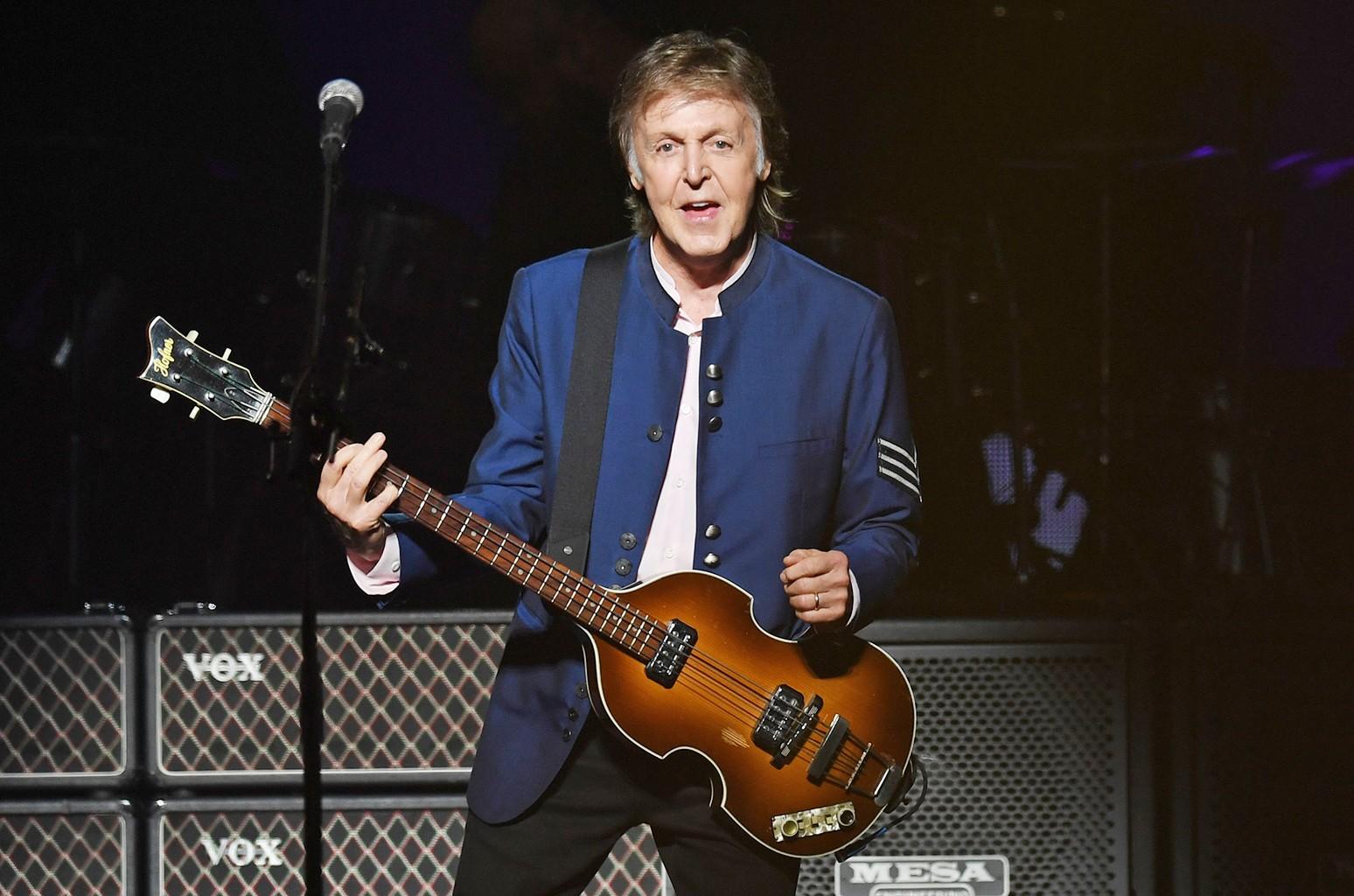 Sir Paul McCartney, 2017