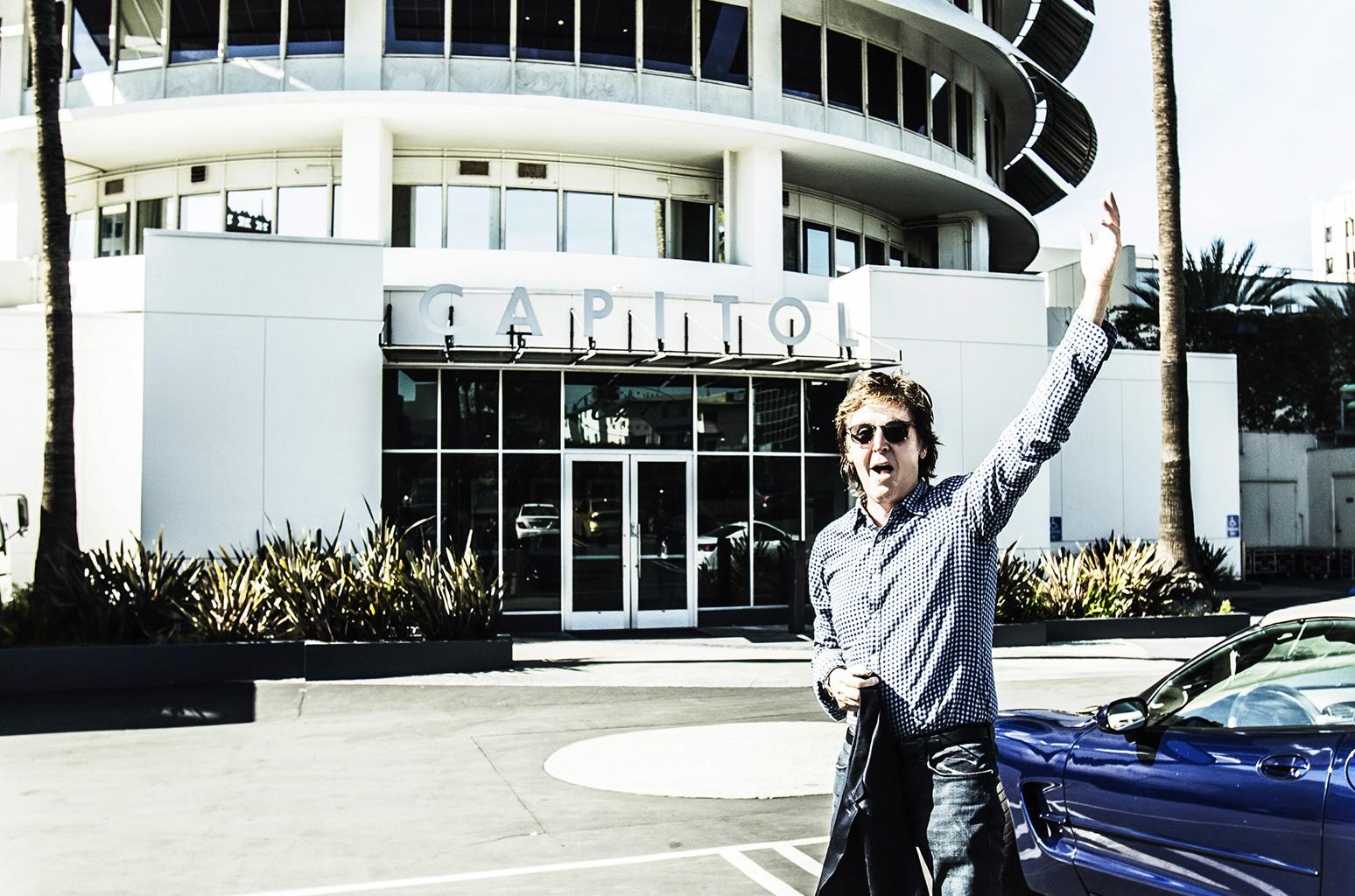 Paul McCartney at Capitol Records