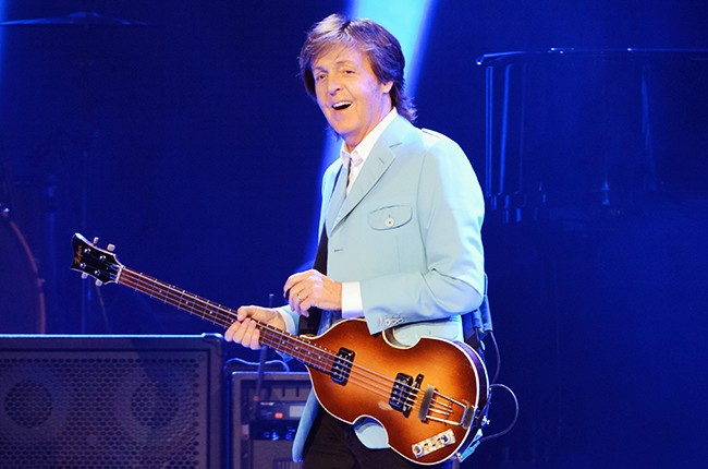 Paul McCartney performs in Chicago