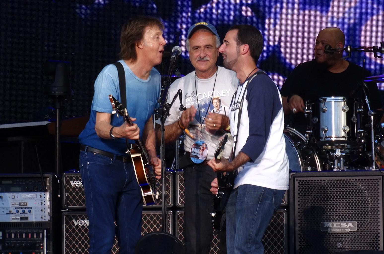 Paul McCartney soundcheck