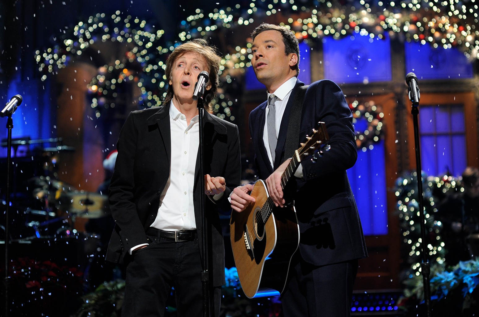 Paul McCartney & Jimmy Fallon, 2013