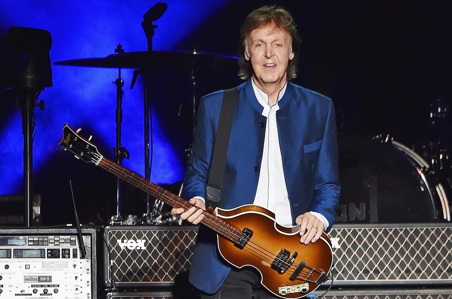 Paul McCartney performs at MetLife Stadium