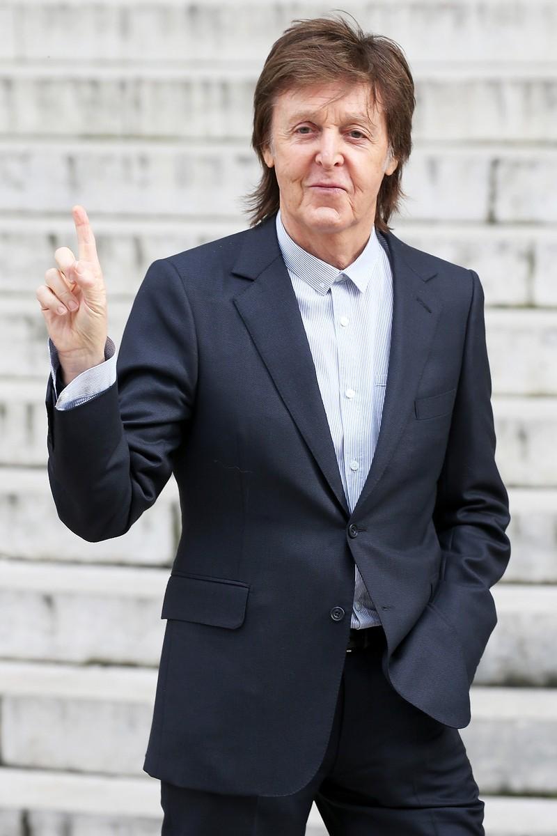 Paul McCartney Fashion Week 2016