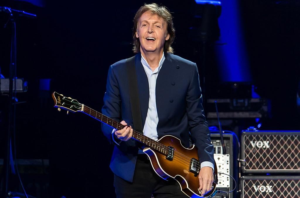 Sir Paul McCartney performs in Philadelphia