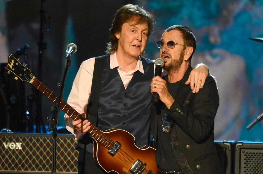 Paul McCartney Ringo Starr