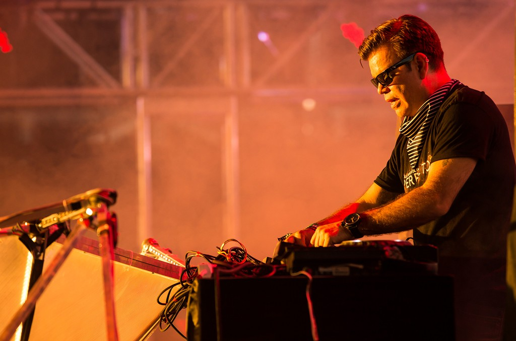 Paul Oakenfold performs during the Coachella Valley Music & Arts Festival at The Empire Polo Club on April 21, 2013 in Indio, Calif.