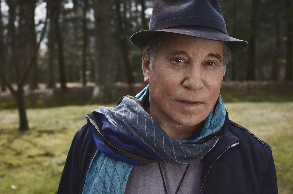 Paul Simon photographed in 2016