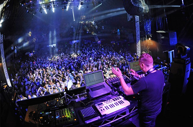 Paul Van Dyk performs at the Avalon