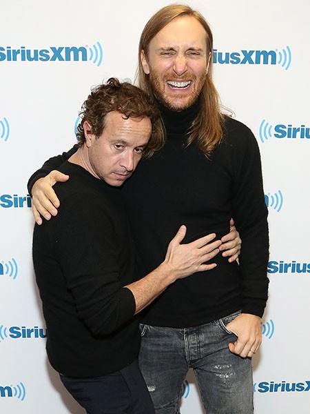 Pauly Shore and David Guetta