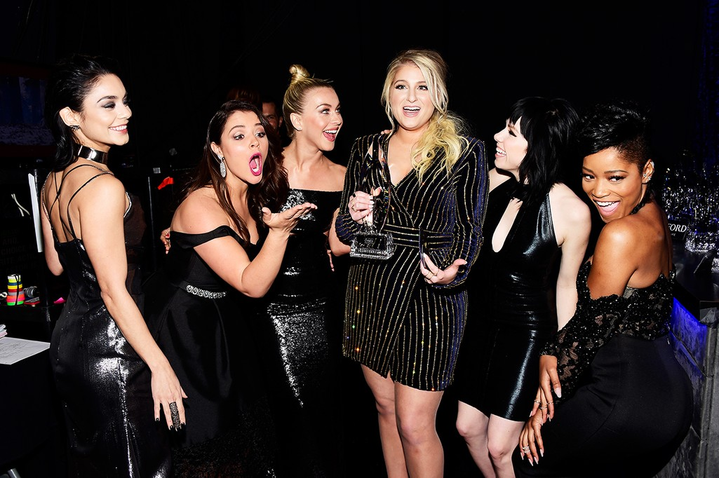 Vanessa Hudgens, Kether Donohue, Julianne Hough, Meghan Trainor, Carly Rae Jepsen and Keke Palmer