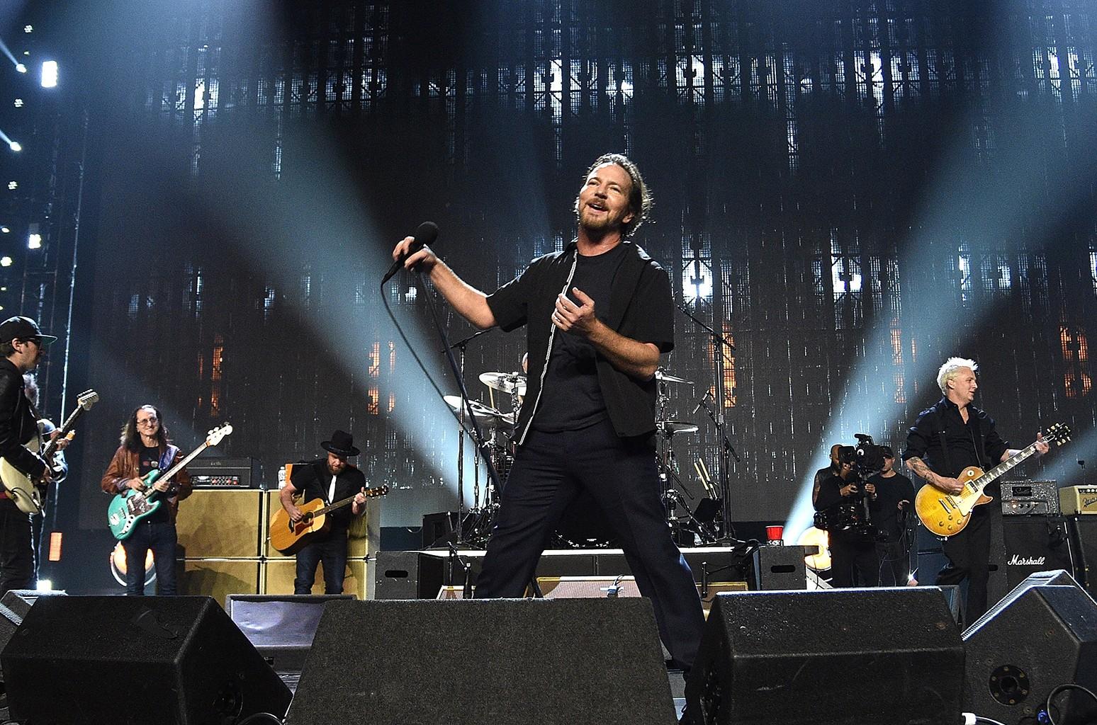 Eddie Vedder of Pearl Jam, 2017