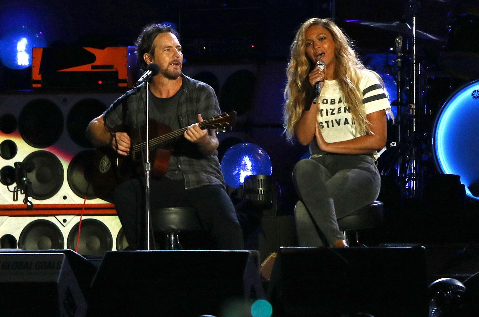 Pearl Jam Beyonce 2016