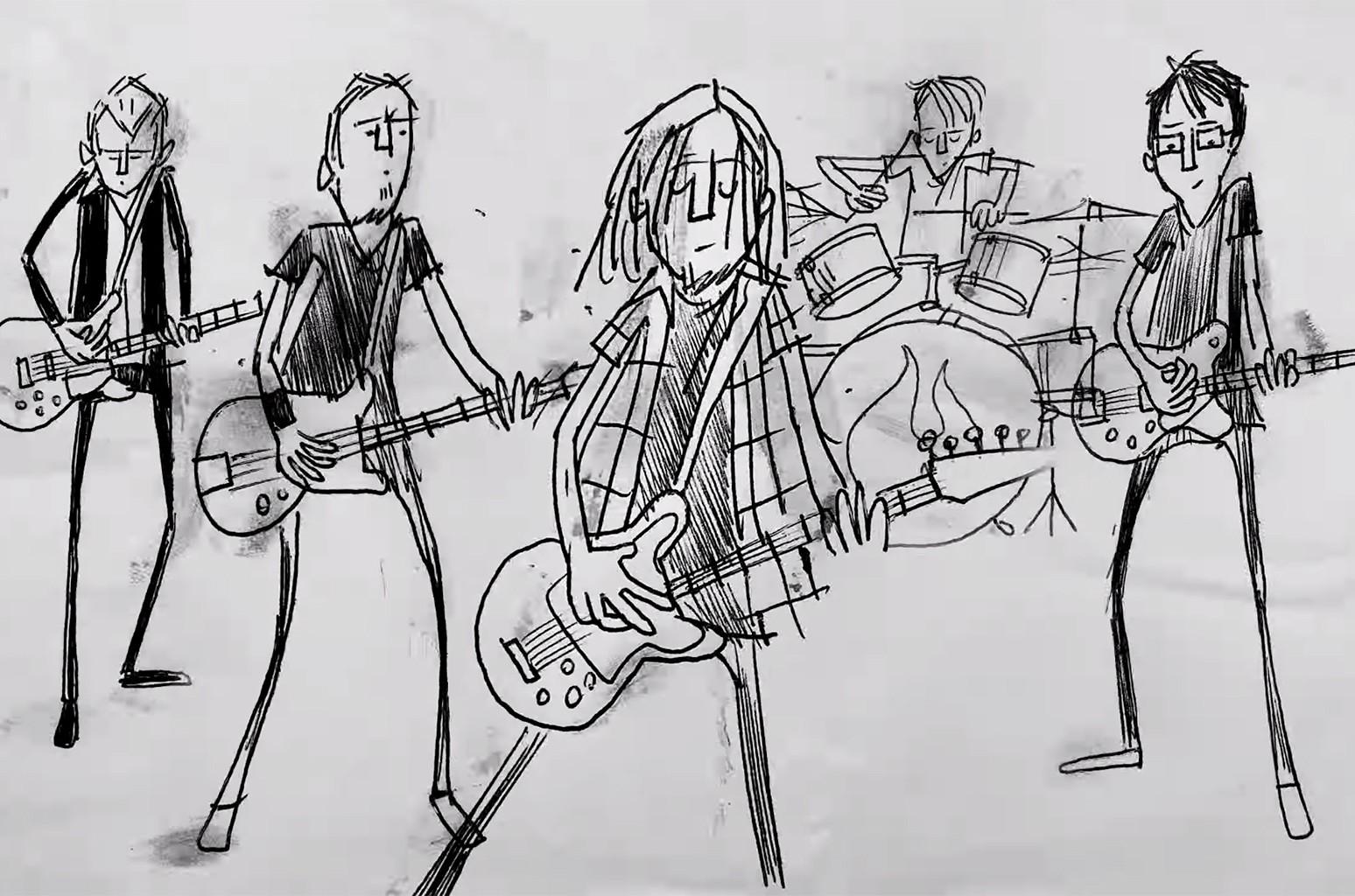 "Pearl Jam, ""Superblood Wolfmoon"" (Tiny Concert Animated Video)"