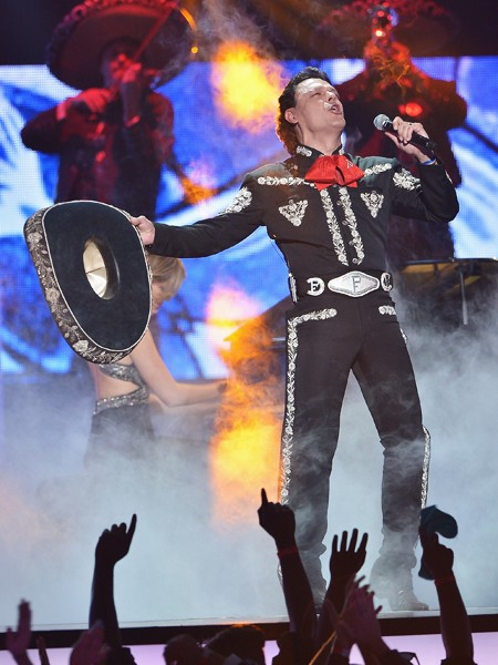 Pedro Fernadez performs onstage at the 2015 Billboard Latin Music Awards