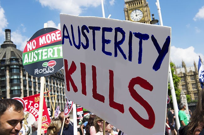 The People's Assembly Against Austerity, 2013.