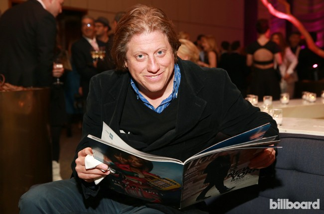 Peter Shapiro attends The 35 Most Powerful People in Media hosted by The Hollywood Reporter