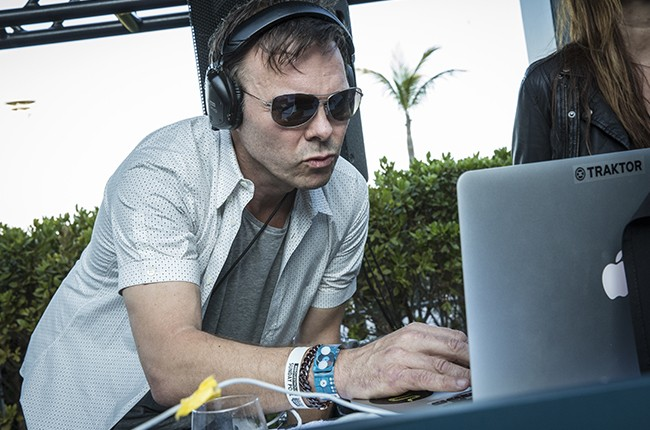 Pete Tong performs at Red Bull Guest House in Miami,