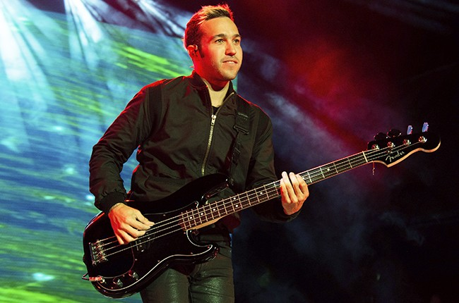 Pete Wentz of Fall Out Boy Boys of Zummer 2015