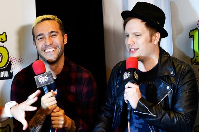 Pre Billboard Music Awards 2015 fall out boy
