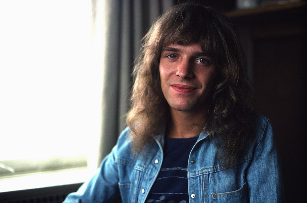 Peter Frampton photographed in the 1970s.