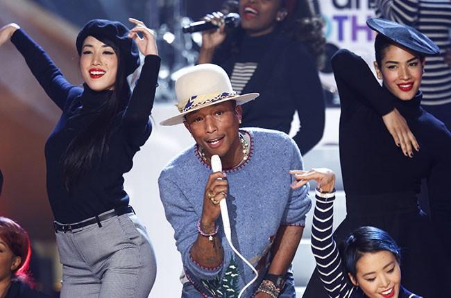 Pharrell on A Very Grammy Christmas