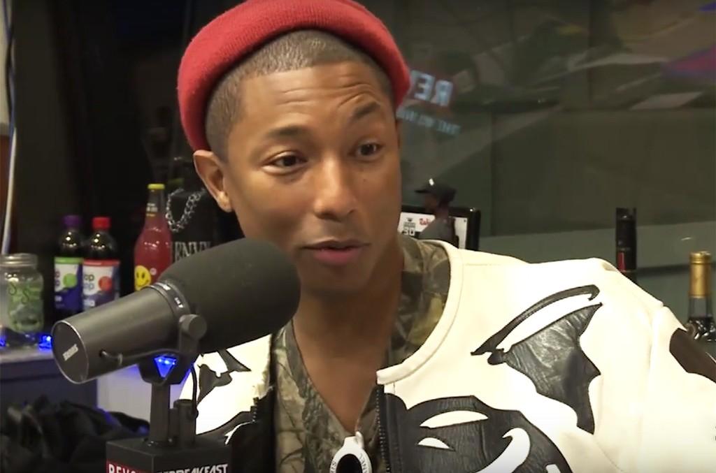Pharrell on The Breakfast Club.