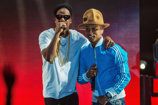 Jay Z, Pharell at Coachella 2014