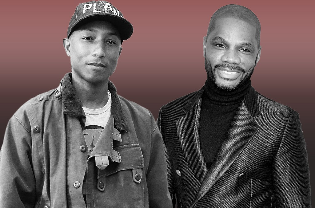 Pharrell Williams and Kirk Franklin