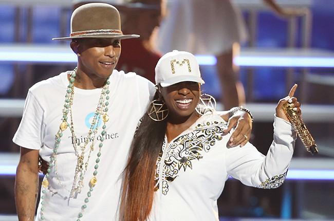 Pharrell Williams and Missy Elliott
