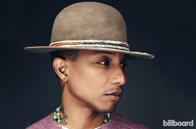Pharrell of The Voice, 2014.