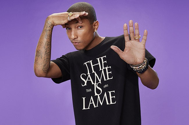 """Pharrell Williams """"i am OTHER"""" collaboration with UNIQLO"""