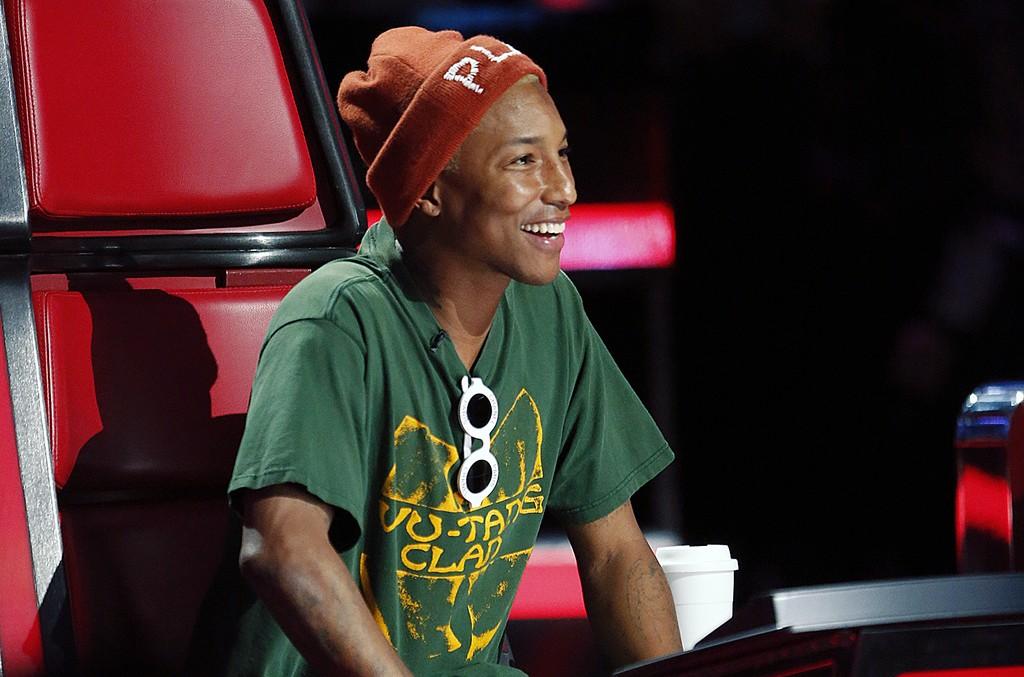 Pharrell Williams on 'The Voice'