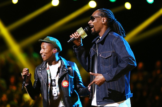 Pharrell Williams and Snoop Dogg
