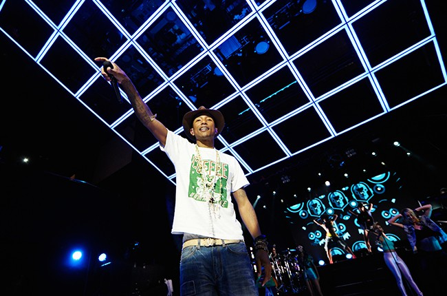 Pharrell Williams performs at Sprint Sound Sessions