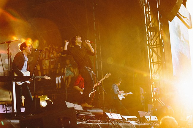 Phoenix perform at Governors Ball 2014