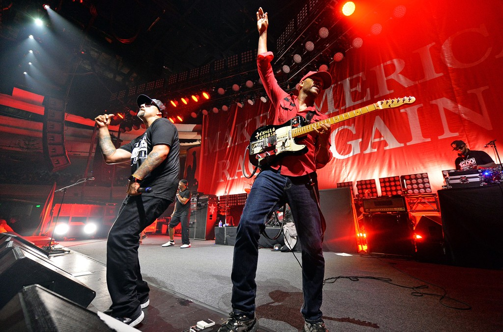 B-Real and Tom Morello of Prophets of Rage