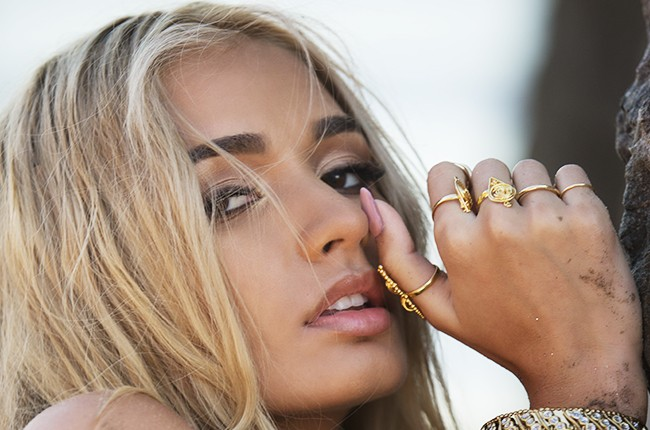 Pia Mia photographed in 2015.
