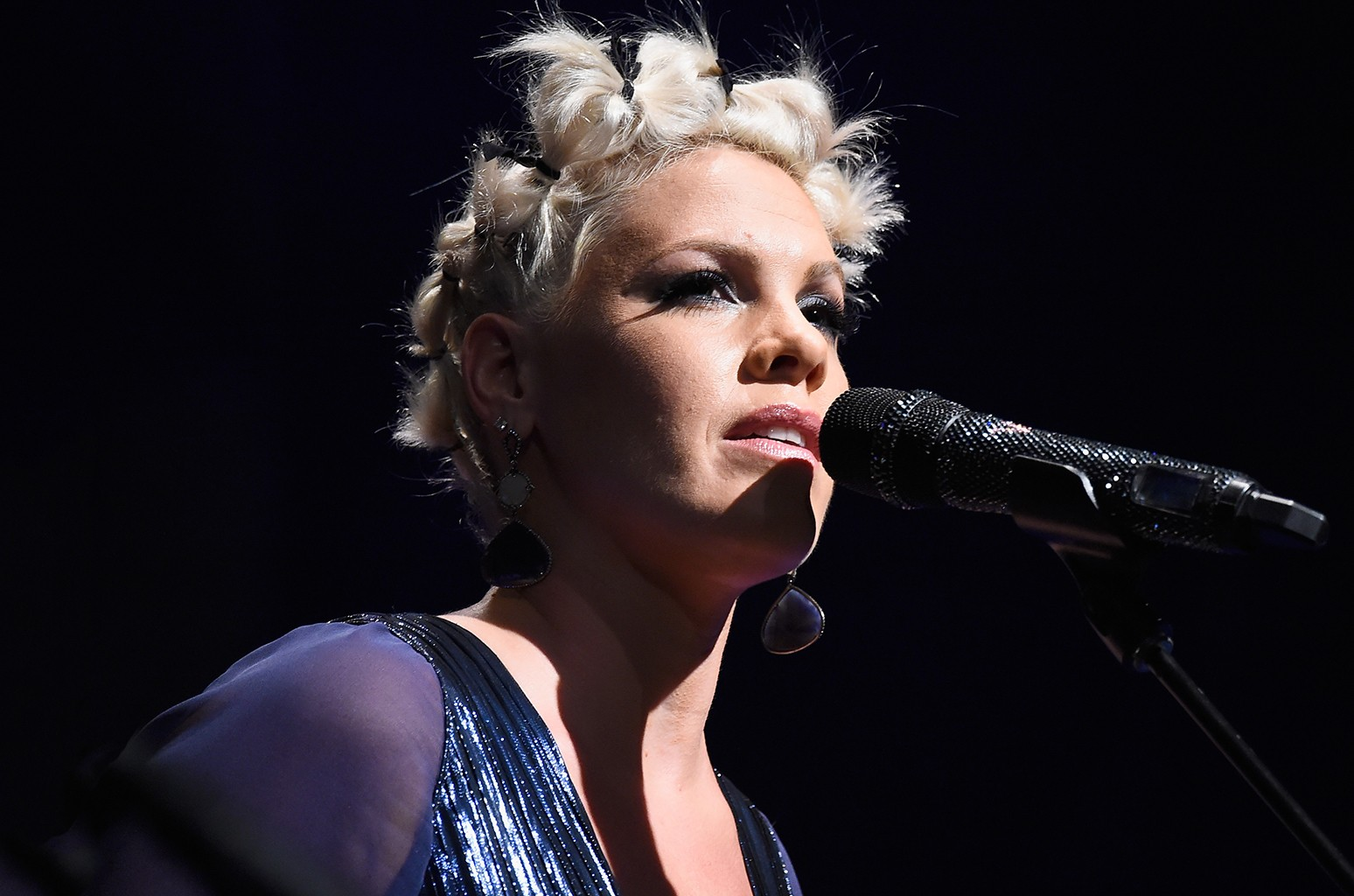 Pink performs at House of Blues Sunset Strip on Oct. 23, 2014 in West Hollywood, Calif.