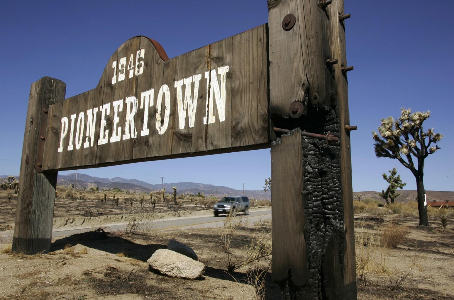 Pioneertown, California.