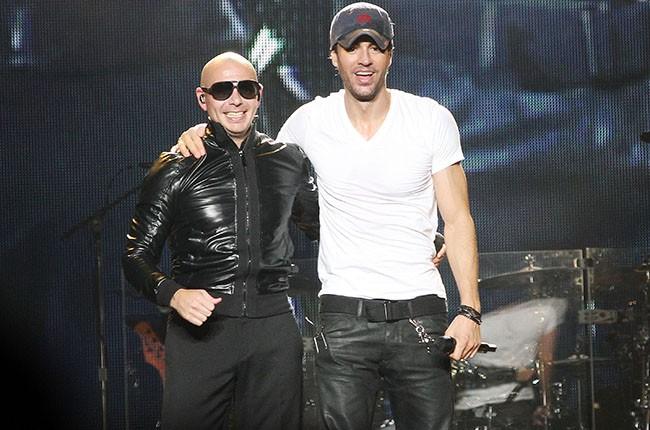 Enrique Iglesias and Pitbull, 2014.