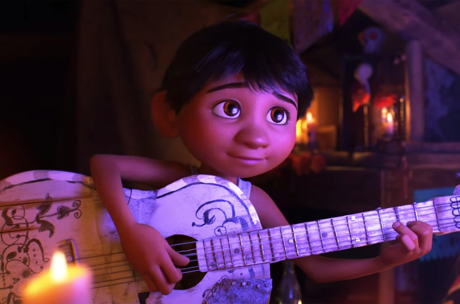 Disney Pixar S Mexican Music Themed Coco Looks Like Footloose Meets Day Of The Dead In New Trailer Billboard