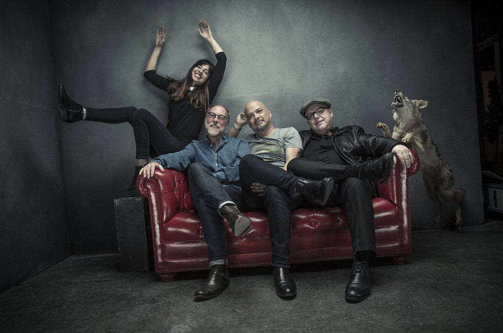 Pixies photographed in 2016.