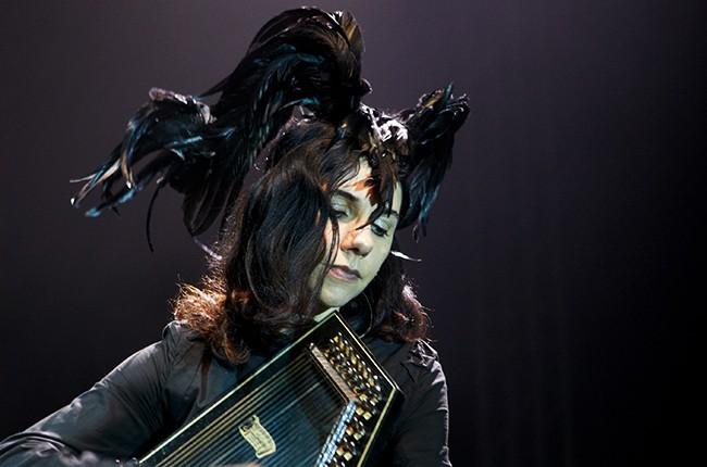 PJ Harvey performs in 2011