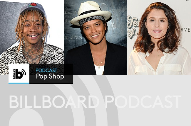 Wiz Khalifa; Bruno Mars; Jessie Ware