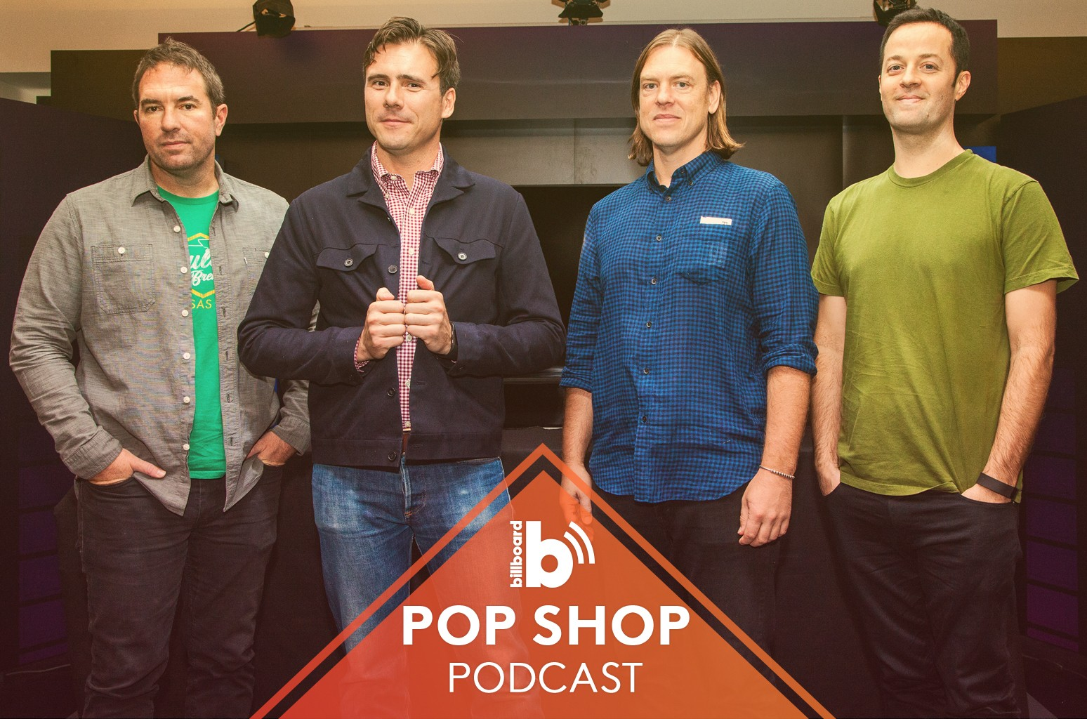 Pop Shop Podcast featuring: Jimmy Eat World
