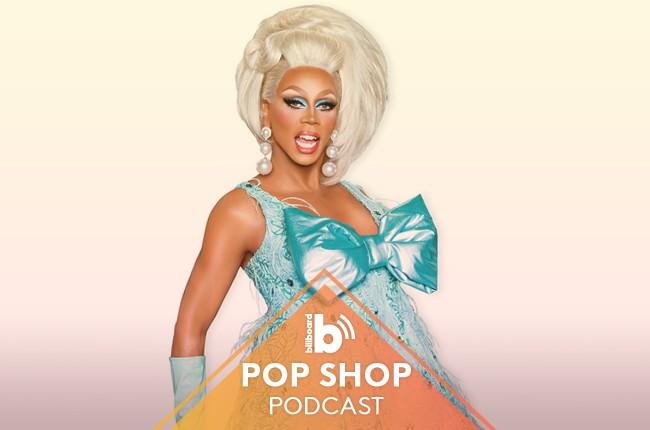 Pop Shop Podcast featuring: RuPaul