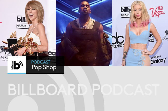 Pop Shop Podcast featuring: Taylor Swift, Kanye West and Iggy Azalea