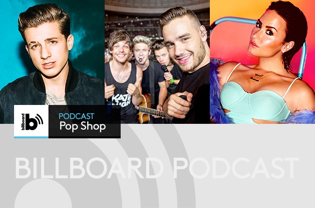 Pop Shop Podcast: Charlie Puth, One Direction and Demi Lovato