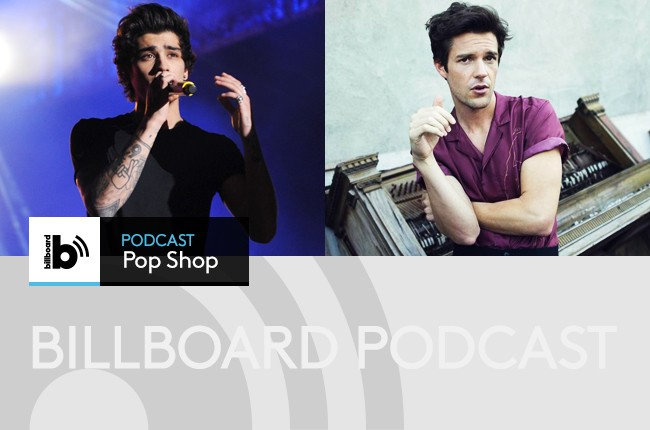 pop shop podcast with brandon flowers and one directions zayn malik